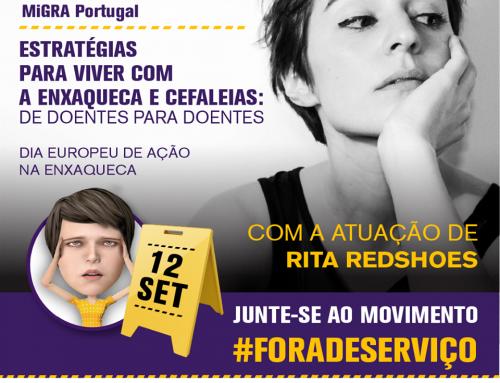 """Facebook Live da MiGRA Portugal """"Estratégias para viver com Enxaqueca e Cefaleias: De doentes para Doentes"""""""