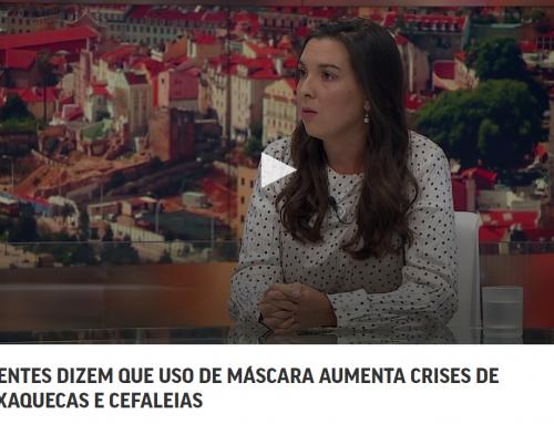 DOENTES DIZEM QUE USO DE MÁSCARA AUMENTA CRISES DE ENXAQUECAS E CEFALEIAS